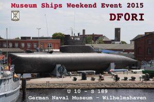 DF0RI Museumsschiffswochenende 2015