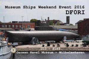 DF0RI Museumsschiffswochenende 2016